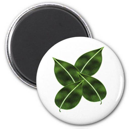 Four Leaves Magnet