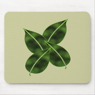 Four Leaves Mouse Pad