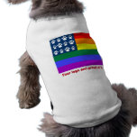 Four Legs and Proud Of It (white paws) Dog T Shirt