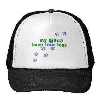 Four Legs Mesh Hat