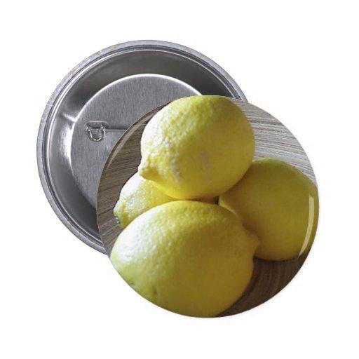 Four Lemons in Bowl Pin