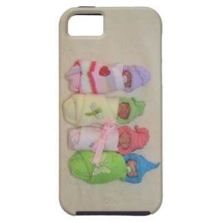 Four Little Babies: Polymer Clay Sculptures iPhone SE/5/5s Case