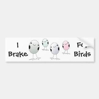 Four Little Birds Bumper Sticker