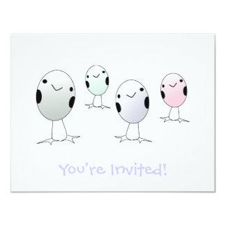 Four Little Birds Card