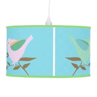 Four little birds pendant lamp