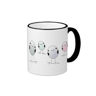 Four Little Birds Ringer Mug