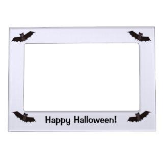 Four Little Halloween Bats Magnetic Photo Frame