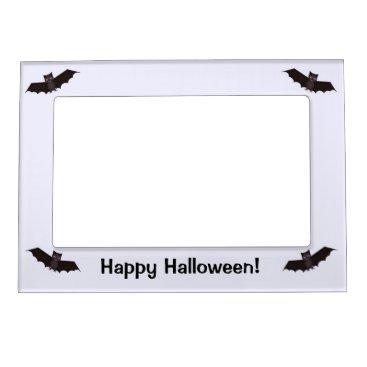 Halloween Themed Four Little Halloween Bats Magnetic Photo Frame