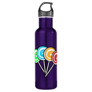 Four Lollipops Water Bottle