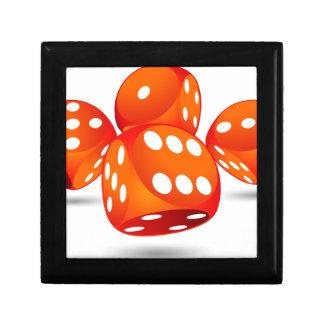four magic dices gift box