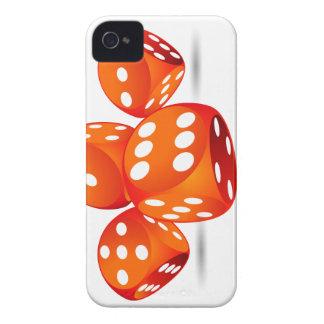 four magic dices iPhone 4 case
