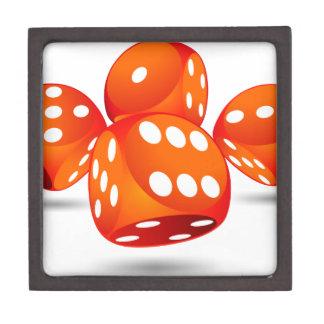 four magic dices keepsake box