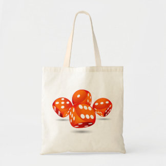 four magic dices tote bag