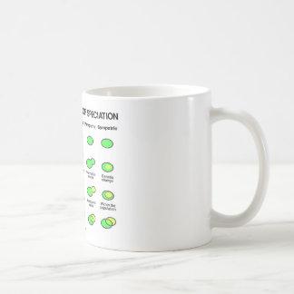 Four Mechanisms Of Speciation (Evolution) Coffee Mug