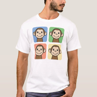 Four Monkeys T-Shirt