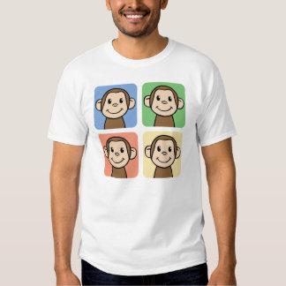 Four Monkeys Tee Shirt
