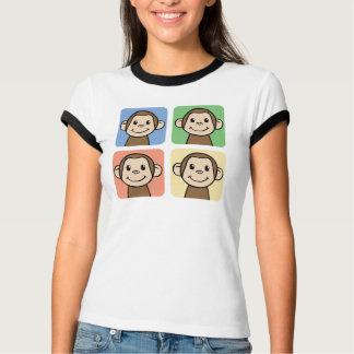 Four Monkeys Tshirt