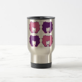 FOUR MOODS in PINK and PURPLE Mug