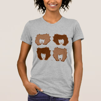 FOUR MOODS in TAN and BROWN T-Shirt