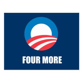 FOUR MORE POSTCARD