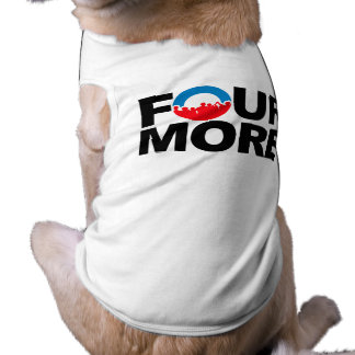 FOUR MORE WITH DNC.png Doggie Tee Shirt