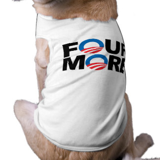 FOUR MORE WITH OBAMA.png Dog Tee