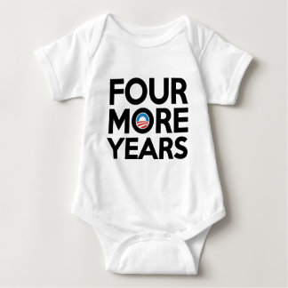 Four More Years Baby Bodysuit
