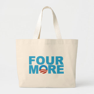 Four more years tote bags