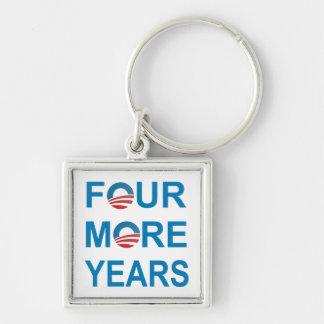 FOUR MORE YEARS - Barack Obama 2012 Keychain