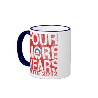 Four More Years Barack Obama Coffee Mug