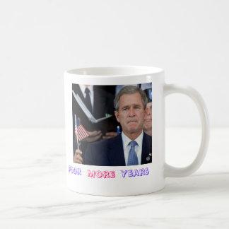 Four More Years Classic White Coffee Mug