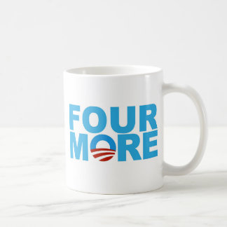 Four more years coffee mug