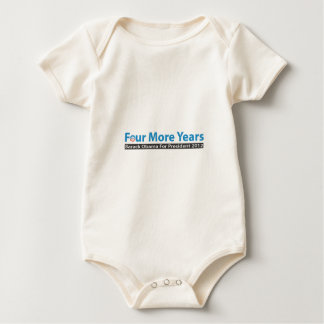 Four More Years for Obama Baby Bodysuit