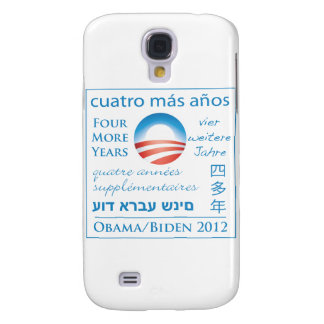 Four More Years for Obama/Biden Samsung S4 Case