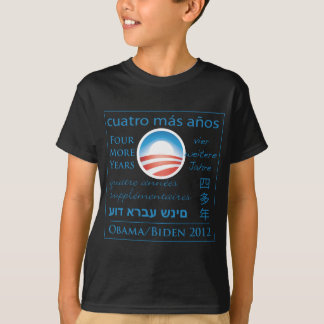 Four More Years for Obama/Biden T-Shirt