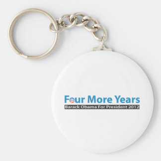 Four More Years for Obama Keychain