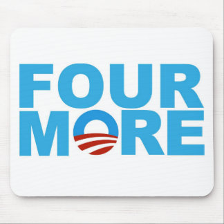 Four more years mouse pad