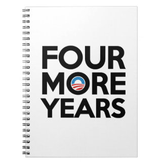 Four More Years Notebook