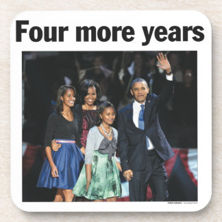 Four More Years: Obama 2012 Coaster
