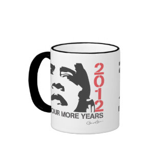 Four More Years Obama 2012 Coffee Mug