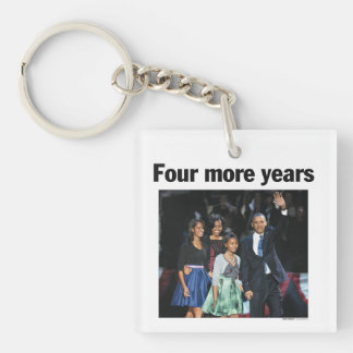 Four More Years: Obama 2012 Keychain