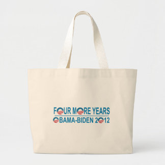Four More Years - Obama-Biden 2012 Canvas Bags