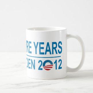 Four More Years - Obama-Biden 2012 Coffee Mug