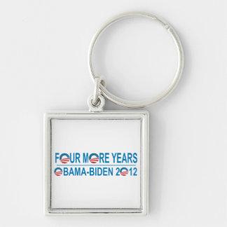 Four More Years - Obama-Biden 2012 Keychain