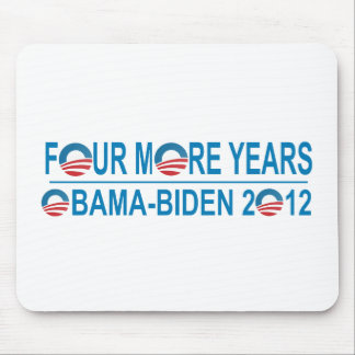 Four More Years - Obama-Biden 2012 Mouse Pad