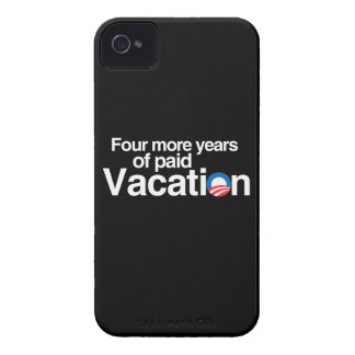 FOUR MORE YEARS OF PAID VACATION BLACKBERRY BOLD CASES