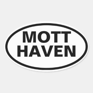 FOUR Mott Haven Oval Sticker