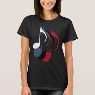 four music notes T-Shirt