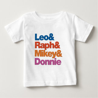 Four Ninjas Baby T-Shirt