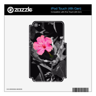 Four O'Clock Flower Decal For iPod Touch 4G